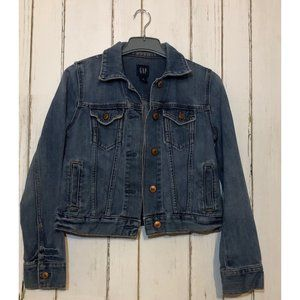 Vintage Gap Cropped Jean Jacket